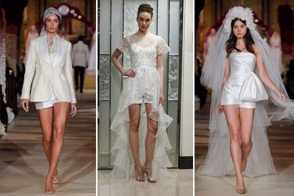 Трендови за свадба 2020 - Невестински шорцеви